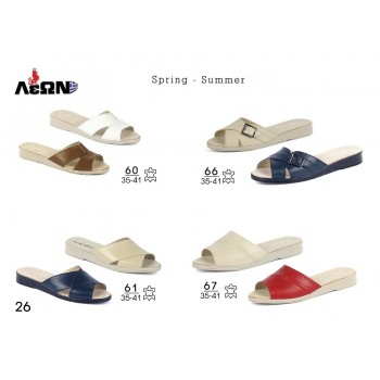 WOMEN LEATHER SLIPPERS
