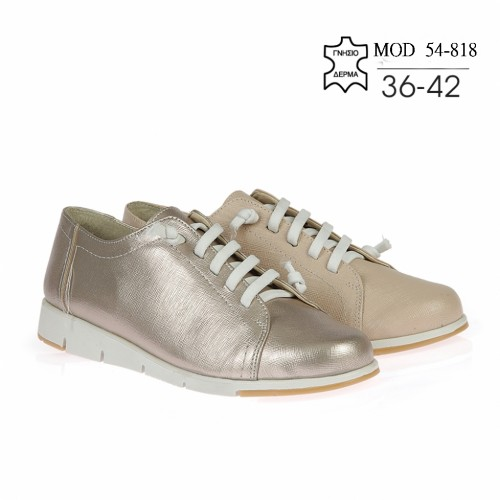 WOMEN LEATHER CASUAL MOD. 54-818